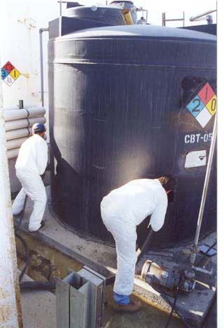 Tank Cleaning Project - Adams Services, Inc.
